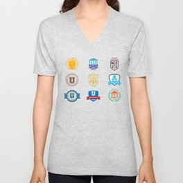 Colleges And Universities Unisex V-Neck