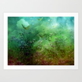 """The Enchanted Forest"" (Fairyland) Art Print"