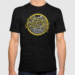 The Steampunk Worlds Fair Logo Poster T-shirt
