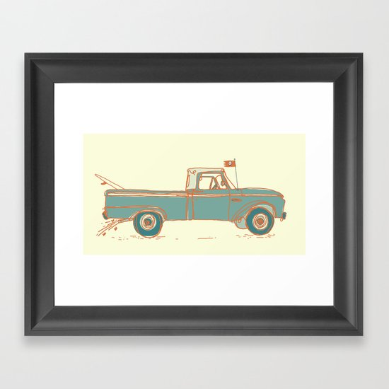 Get Lost #2 Framed Art Print