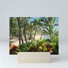 Kuau Beach Cove Paia Maui Hawaii Mini Art Print
