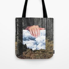 Trouble en forêt Tote Bag