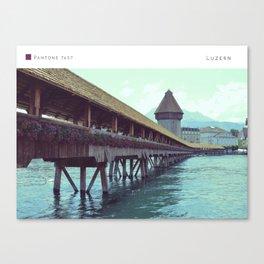 Pantone: Luzern Canvas Print