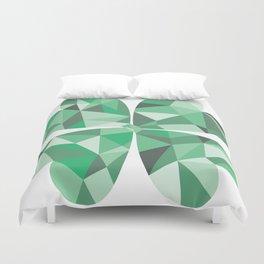 Geometric Clover Duvet Cover