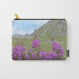 Hatcher Pass Fireweed Carry-All Pouch