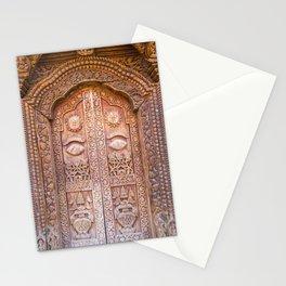 Entrance to a Temple Kathmandu, Nepal Stationery Cards