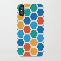 hexagon iPhone & iPod Cases featuring Hexagon by Danielle Arrington