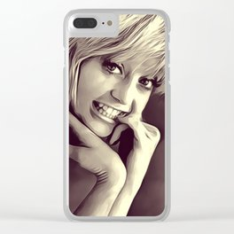 Goldie Hawn, Actress Clear iPhone Case