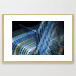 Ribbon Waterfall Framed Art Print