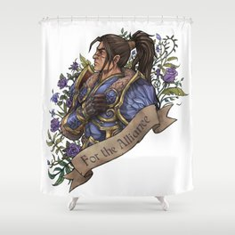 My King Shower Curtain