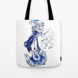 The Ice Wizard Tote Bag