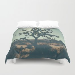 Circles and squares Duvet Cover