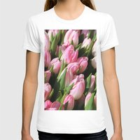 tulips T-shirts featuring  Tulips. by Assiyam