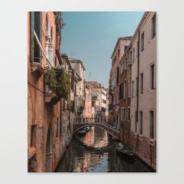 Exploring Venice // Travel and Lifestyle Collection Canvas Print