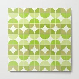 Mid Century Geometric 5 Metal Print