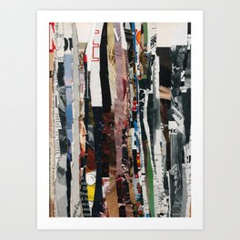partisan paper match 72 Art Print