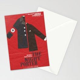 The Night Porter, movie poster, Liliana Cavani, Charlotte Rampling, Dirk Bogarde Stationery Cards