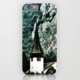 Surrounded by Mountains iPhone Case