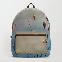 Soft Queen Anne's Lace and Bokeh Backpack