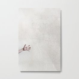 helpless. Metal Print