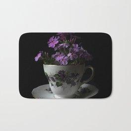 Botanical Tea Cup Bath Mat