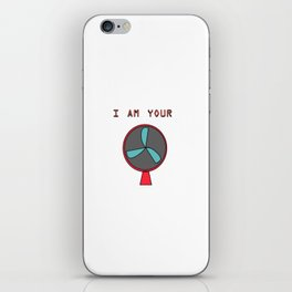 Fan iPhone Skin
