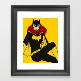 DC Poster Girls - Batgirl Framed Art Print