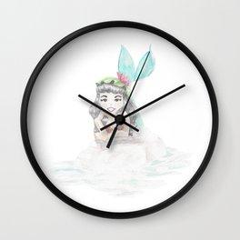 Lily Pad Hat Wall Clock