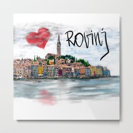 I love Rovinj Metal Print