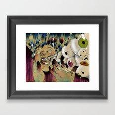 Dirty Fingers Framed Art Print