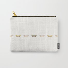 Moth Collage Horizontal Carry-All Pouch