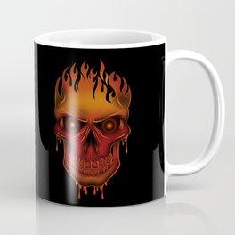 Flame Skull Coffee Mug