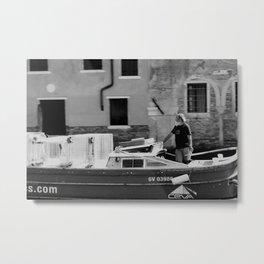 Venetian captain Metal Print