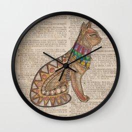 Egyptian Mao I Wall Clock