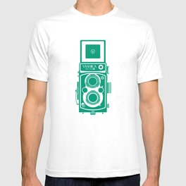 Yashica Mat 124G Camera Emerald T-shirt