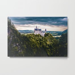 Castle on the Hill (Color) Metal Print
