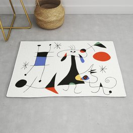 Joan Miro The Sun (El Sol) 1949 Painting Artwork For Prints Posters Tshirts Bags Women Men Kids Rug