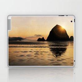 Cannon Beach haystack Laptop & iPad Skin