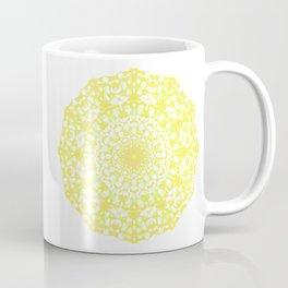 Mandala 12 / 4 eden spirit yellow Coffee Mug