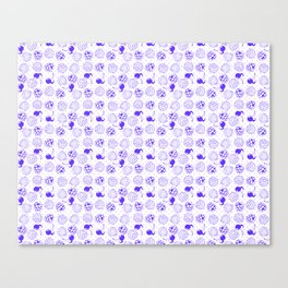 Purple Spring Canvas Print