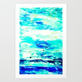 Plits Art Print