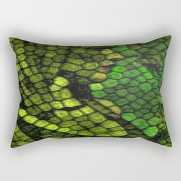 Kiss of the Vipress Rectangular Pillow