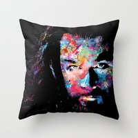 thorin Throw Pillows featuring Thorin by lauramaahs