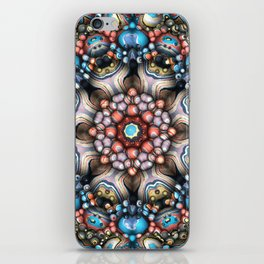 Colorful Circle of 3D Shapes iPhone Skin