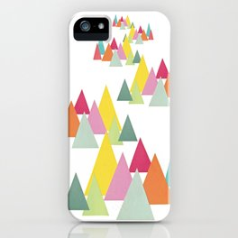 Meandering Forest iPhone Case