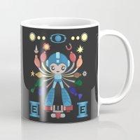 megaman Mugs featuring MegaMan Shrine by MattBlanksArt