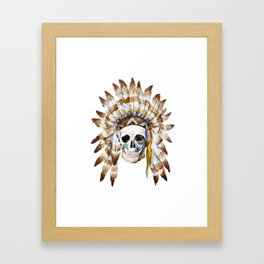 Skull 01 Framed Art Print