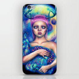 Inner space iPhone Skin
