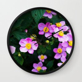 flowers c Wall Clock