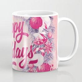 Holiday Greetings 8 Coffee Mug